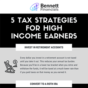 5 Tax Strategies for High Income Earners